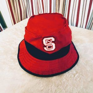 Adidas NCSU Bucket Hat With Adjustable Chin Strap